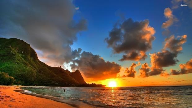 3747-honolulu-sunset-1920x1080-beach-wallpaper