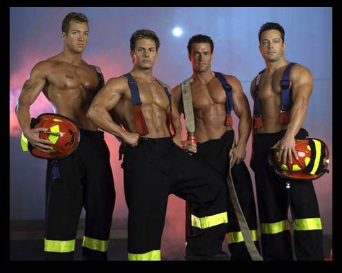 chippendales-pompier