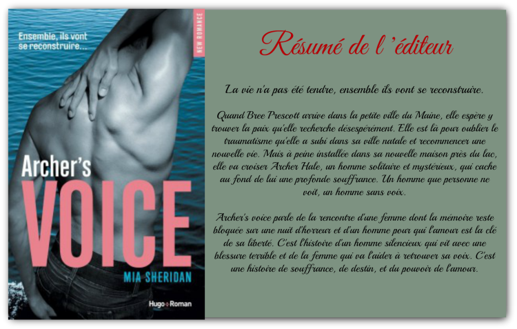 Archer's Voice, Mia Sheridan - Hugo New Romance