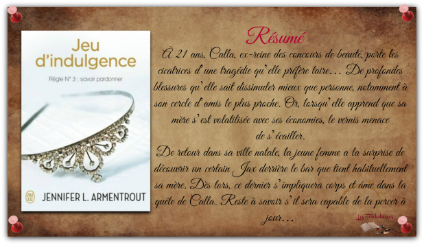 Wait for You, Tome 3 Jeu d'Indulgence