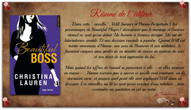 Beautiful, tome 9 - Beautiful Boss - Christina Lauren
