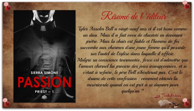 Priest, tome 1  Passion - Sierra Simone