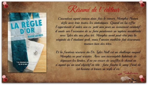 The Boyfriend Chronicles, Tome 2 La Règle d'or