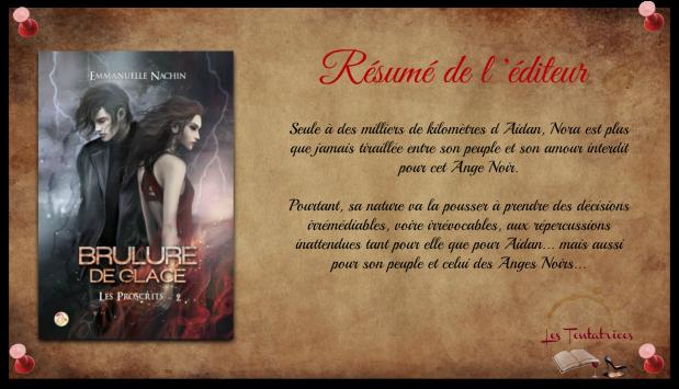 Brûlure de Glace, Tome 2 Les Proscrits - Emmanuelle Nachin